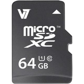 V7 VAMSDX64GUHS1R-2N 64 GB microSDXC