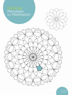 Coloring Mandalas for Meditation (Paperback)