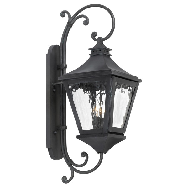 Manor 2-Light Charcoal Outdoor Sconce