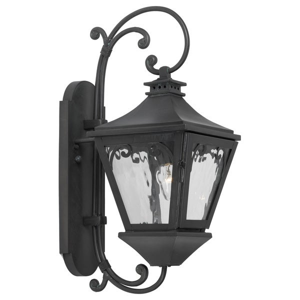 Manor 1-light Charcoal Outdoor Wall Sconce