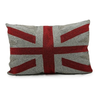 Mina Victory Union Jack 16 x 24-inch Throw Pillow