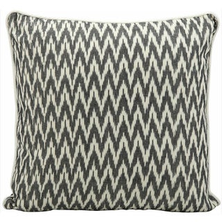 Mina Victory Lifestyle Black 18-inch Square Throw Pillow