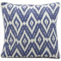 Mina Victory Lifestyle Blue 18-inch Square Throw Pillow