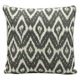 Nourison Mina Victory Lifestyle Black 18-inch Square Throw Pillow