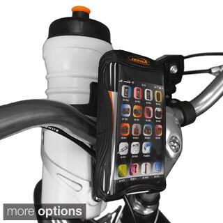 Ibera Bike Black/White Handlebar Phone Case & Mount for iPhone 5