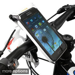 Ibera Bike Black/White Waterproof Phone Case Mount