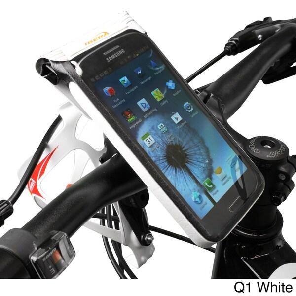 Ibera Bike Black/White Waterproof Phone Case Mount