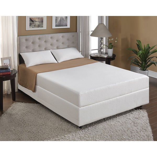 Cool Jewel Twilight 8-inch Twin-size Gel Memory Foam Mattress