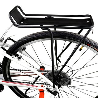 BV Bike Lightweight Commuter Rear Carrier Rack for Most 26-inch and 28-inch Frames