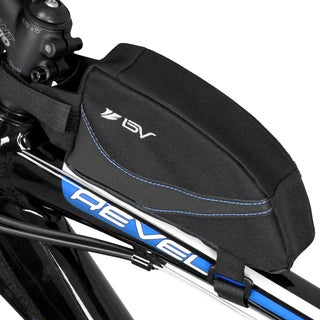 BV Bike Wedge Frame Easy-Access Top Tube Bag with Concealed Opening