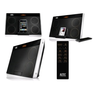 Altec Lansing inMotion Max Black Speaker System for iPod and iPhone (Manufacturer Refurbished)