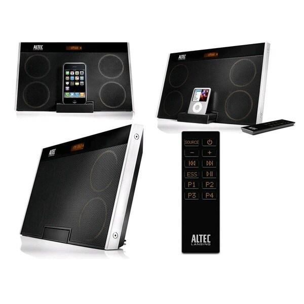 Altec Lansing inMotion Max Black Speaker System for iPod and iPhone (Manufacturer Refurbished)