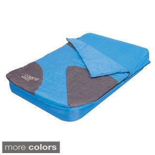 Aslepa 2-in-1 Double Airbed with Sleeping Bag