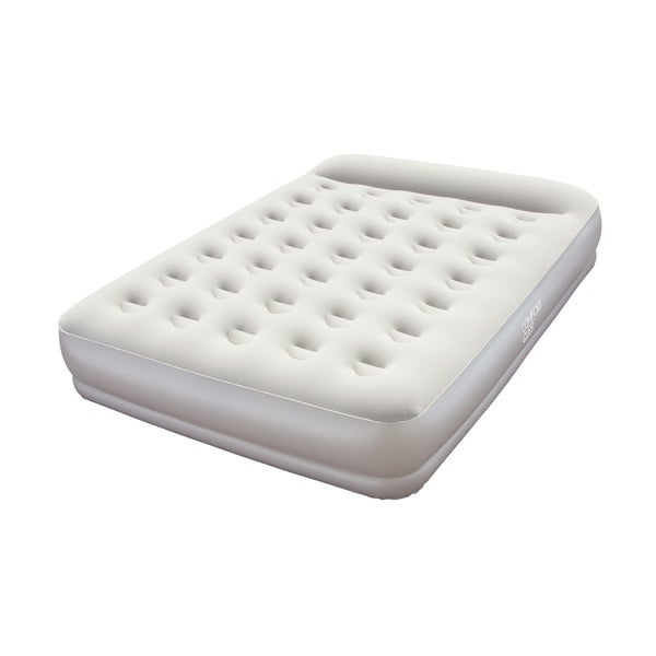 Restaira Premium Queen Air Bed with Built-in Pump