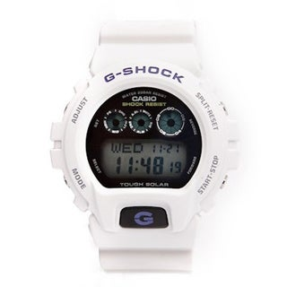 Casio Men's G-Shock G6900A-7 White Digital Chronograph Watch