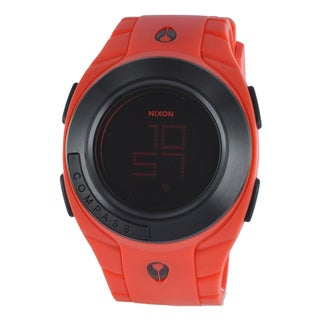 Nixon Men's Outsider A109 Red Digital Watch