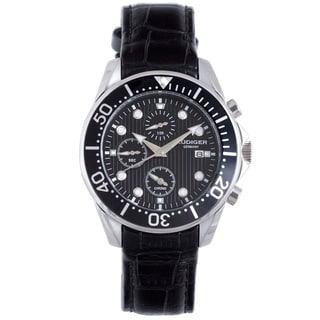 Rudiger Men's Chemnitz Luminous Chronograph Date Watch