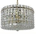Prismatic Gem 9-light Polished Brass/ Crystal Chandelier