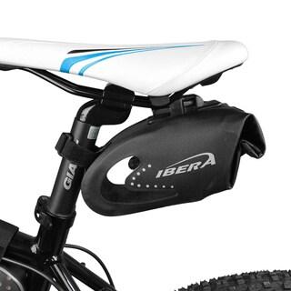 Ibera IB-SB10 Bike All-Weather Reflective Waterproof, Clip-On Quick-Release Saddle Bag