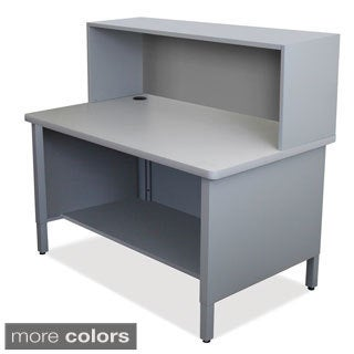 Storage Shelf and Riser Mailroom Utility Table