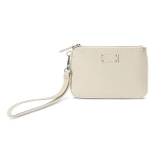 Morelle Alice Creamy White Wristlet Bag