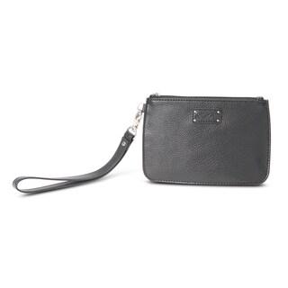 Morelle Alice Black Wristlet Bag