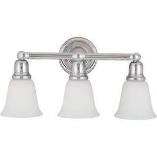 Bel Air 3-light Vanity Chrome Fixture