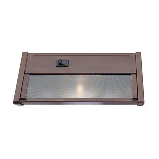 Xenon Undercabinets Collection 1-light 8-inch Bronze Light Fixture