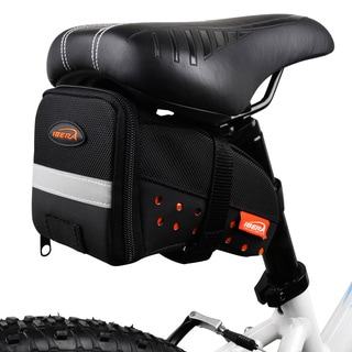 Ibera IB-SB11 Bike Strap-on Frame Saddle Bag