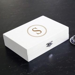 Personalized Jewelry Box White