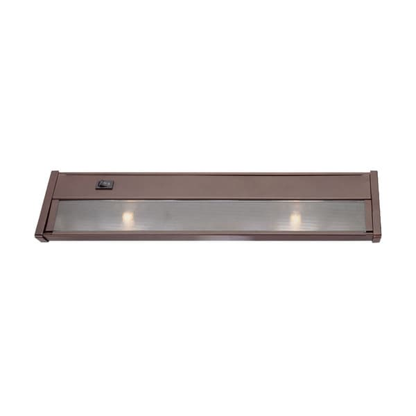 Xenon Undercabinets Collection 2-light 16-inch Bronze Light Fixture