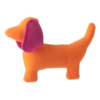 Superflykids 'Dash' Pink/ Orange Small Dog Plush Toy