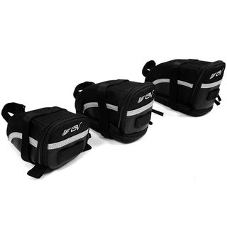 BV Bike Black Seat Strap-on Saddle Bag