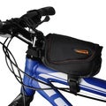 Ibera Bike Black Non-scratch Base Frame Top Tube Bag