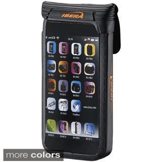 Ibera Bike Black/ White Waterproof iPhone5 Case and Mount