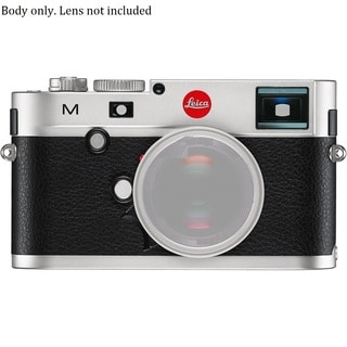 Leica M Digital Rangefinder Silver Camera Body