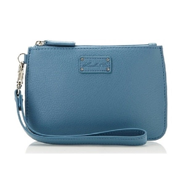 Morelle Alice Blue Wristlet Bag