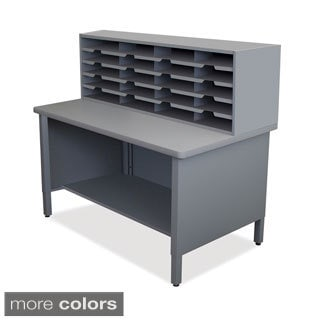 Marvel 20-slot Sorter Storage Shelf Mailroom Organizer