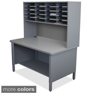 Marvel 20-slot Riser Storage Shelf Mailroom Organizer