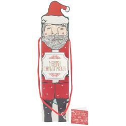 SMASH Holiday Wine Gift Box 13.75 X3.5 X3.5 - Santa