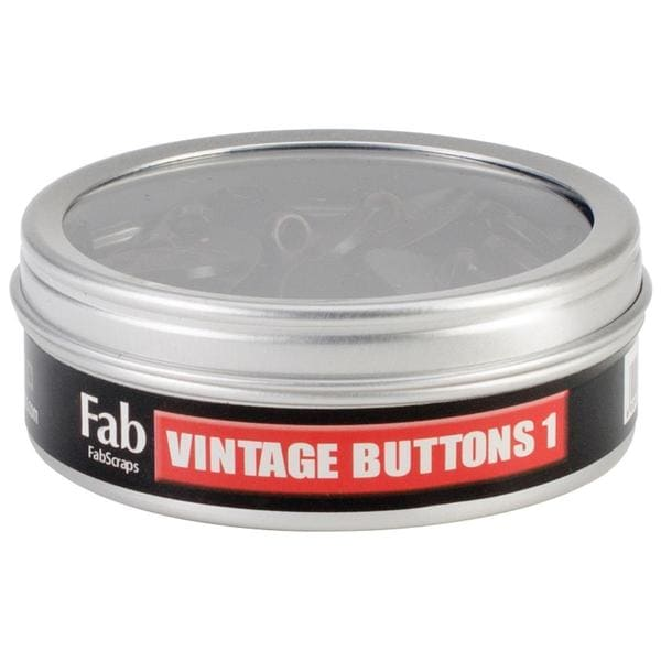 Vintage Buttons 30/Tin - #1