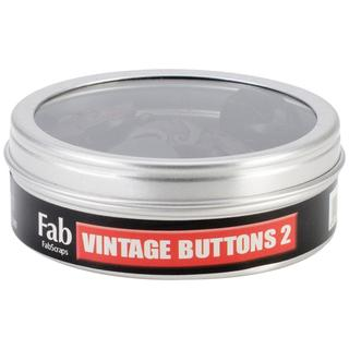 Vintage Buttons 30/Tin - #2