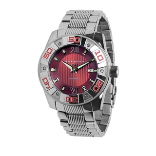Android Men's 'Antigravity' Automatic Red Stainless Steel Watch