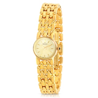 Seiko Women's Goldtone Stainless Steel Quartz Watch