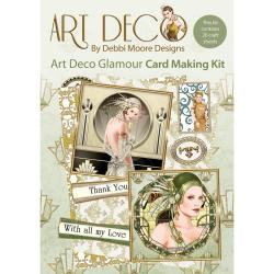 Debbi Moore Art Deco Card Kit - Glamour