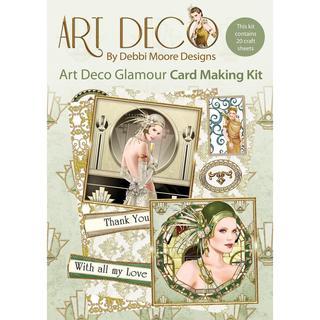 Debbi Moore Art Deco Card Kit - Glamour