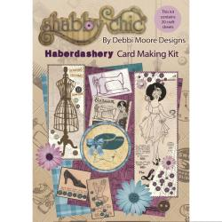 Debbi Moore Shabby Chic Card Kit - Haberdashery