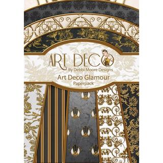 Debbi Moore Art Deco A4 Paper Pack - Glamour