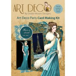 Debbi Moore Art Deco Card Kit - Paris