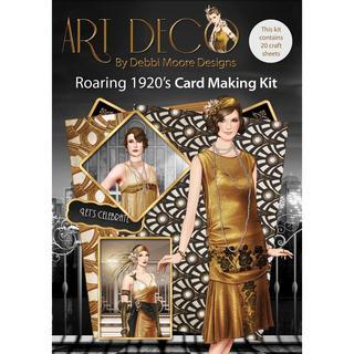 Debbi Moore Art Deco Card Kit - Roaring 1920's